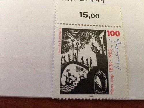 Germany Hans Leip writer mnh 1993