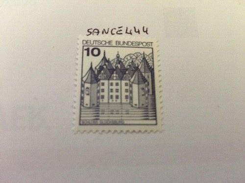 Germany Castle 10p mnh 1977