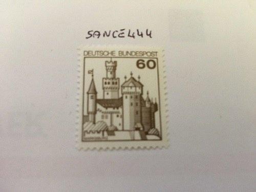 Germany Castle 60p mnh 1977