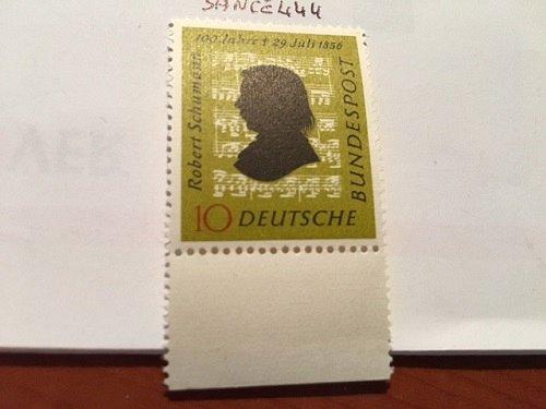 Germany Robert Schumann mnh 1956 #2
