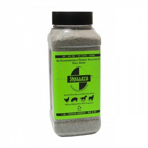 SMELLEZE Natural Stall Odor Removal Deodorizer: 50 lb. Gran. Remove Urine Smell