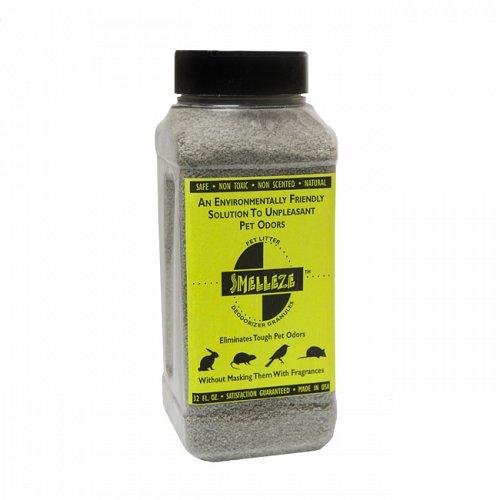 SMELLEZE Natural Rabbit Smell Removal Deodorizer: 50 lb. Granules Rid Pet Odor