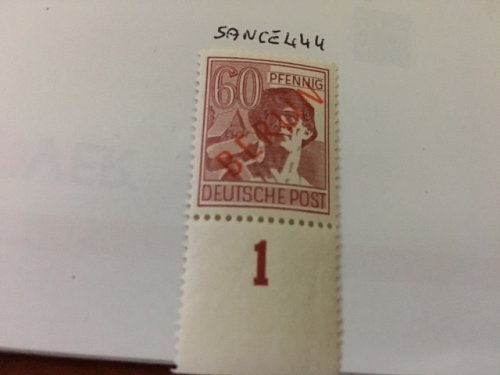 Germany Berlin Red Overp. 60p mnh 1949 #3