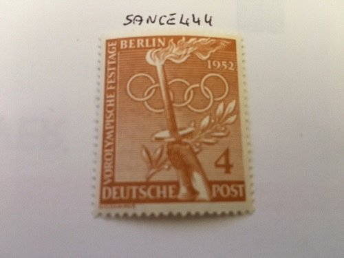 Berlin The Olympic Games 4p mnh 1952