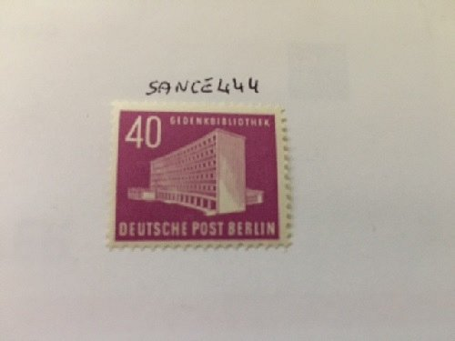 Germany Berlin Buildings 40p mnh 1953