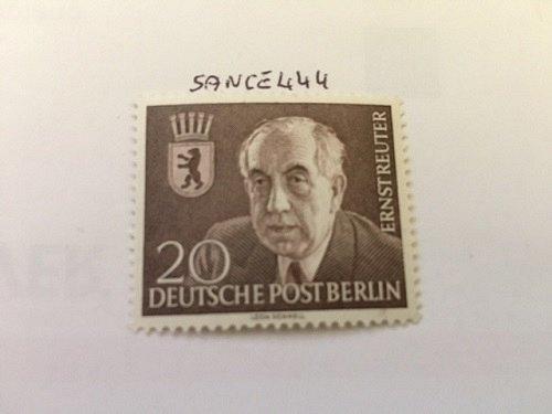 Germany Berlin Ernst Reuter mnh 1954