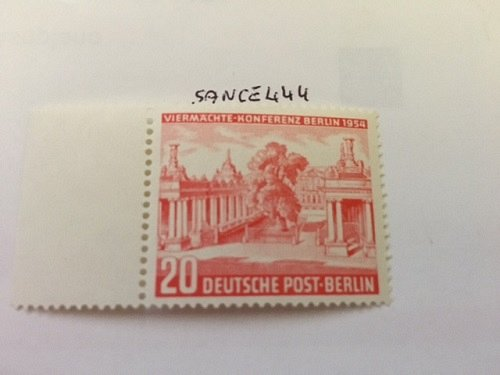 Germany Berlin Four-power Conference mnh 1954