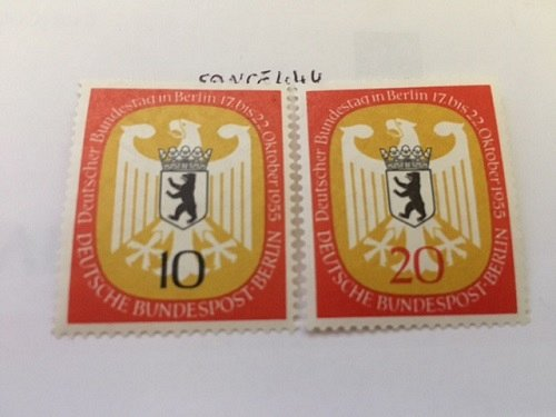 Germany Berlin Federal Diet mnh 1955