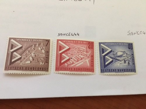 Germany Berlin Building Exhibition mnh 1957