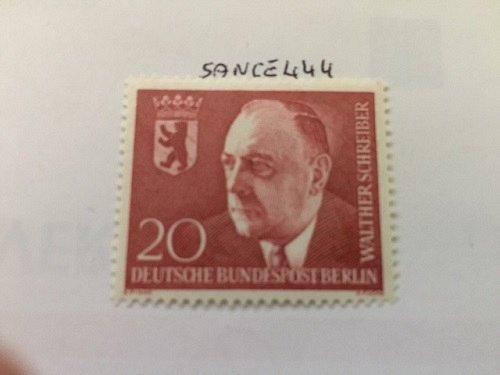 Germany Berlin Walther Schreiber mnh 1960
