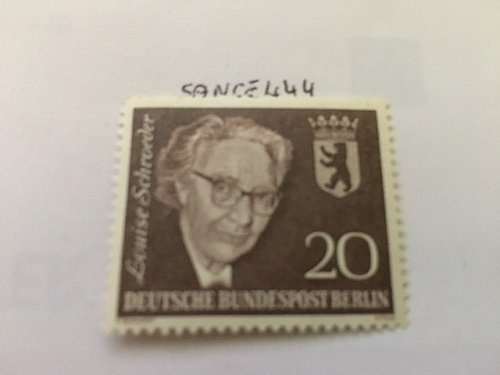 Germany Berlin Louise Schroeder mnh 1961
