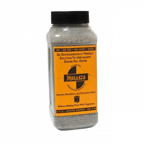 SMELLEZE Eco Diaper Smell Removal Deodorizer: 50 lb. Gran. Remove Odor Safely