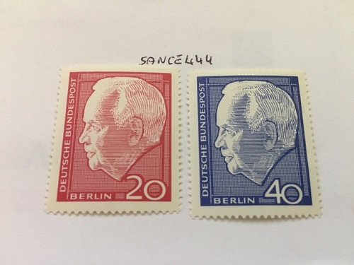 Germany Berlin Heinrich Lübke mnh 1964