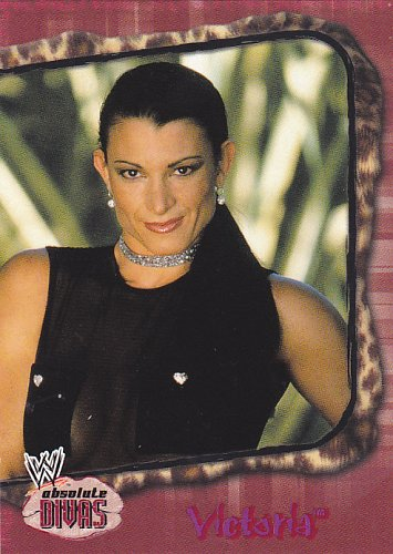 Victoria #14 - Rookie - WWE Absolute Divas 2002 Wrestling Trading Card