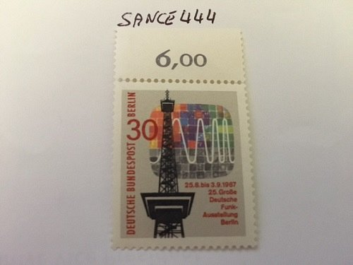 Germany Berlin Radio mnh 1967