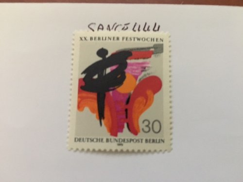 Germany Berlin Festival mnh 1970