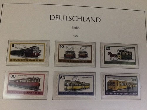 Germany Berlin Transports mnh 1971