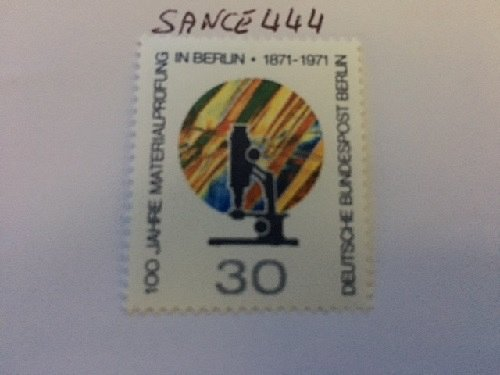 Germany Berlin Metal Research mnh 1971