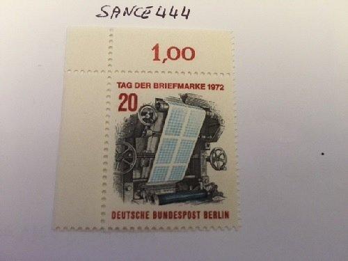 Germany Berlin Stamp day mnh 1972