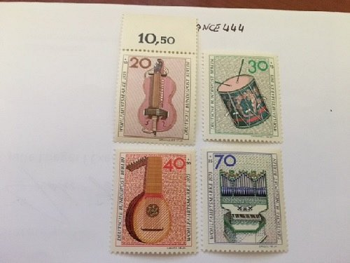Germany Berlin Musical Instruments Charity mnh 1973