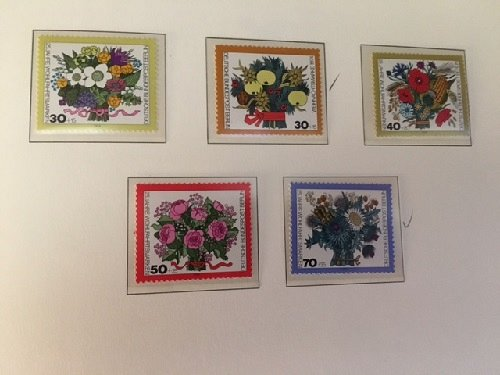 Germany Berlin Flowers mnh 1974