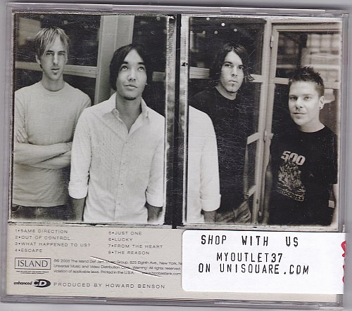 The Reason by Hoobastank CD 2003 - Very Good