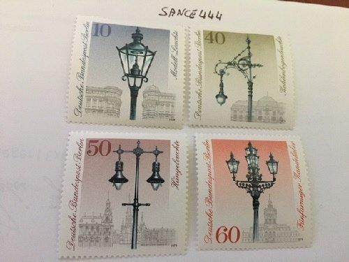 Berlin Street lighting mnh 1979