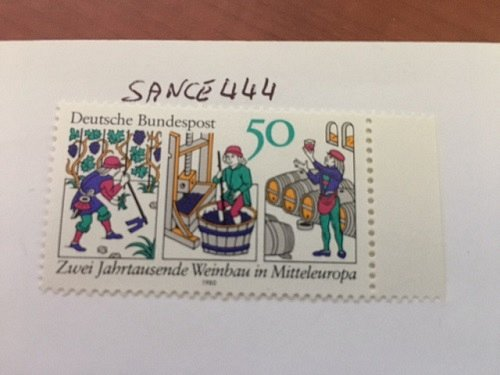 Germany Wine culture mnh 1980