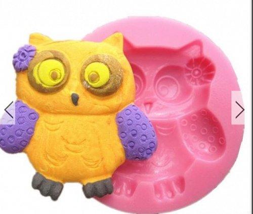 owl fashion silicon mould