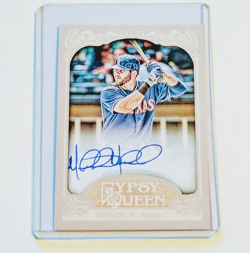 MLB MITCH MORELAND AUTOGRAPHED 2012 TOPPS GYPSY QUEEN MNT