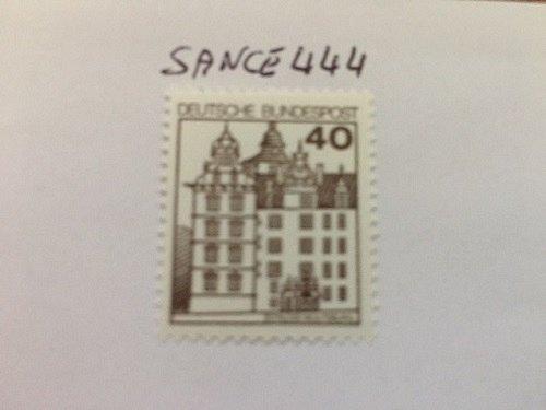 Germany Castle 40p mnh 1980 #2