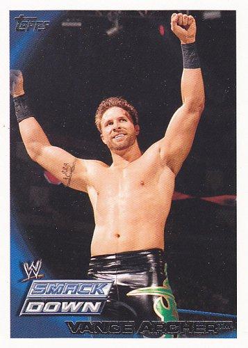 Vance Archer #25 - WWE 2010 Topps Wrestling Trading Card