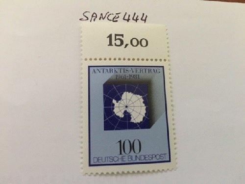 Germany Antarctic treaty mnh 1981