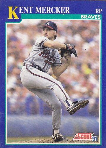 Kent Mercker #79 - Braves 1991 Score Baseball Trading Card