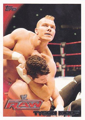 Tyson Kidd #19 - WWE 2010 Topps Wrestling Trading Card