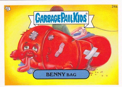 Benny Bag #24a - Garbage Pail Kids 2014 Trading Card