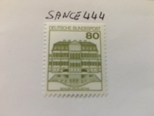 Germany Castles 80p top imperf mnh 1982
