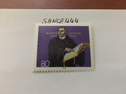 Germany Martin Luther mnh 1983