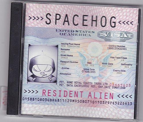 Resident Alien by Spacehog CD 1995 - Very Good