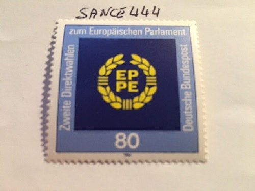 Germany European elections mnh 1984