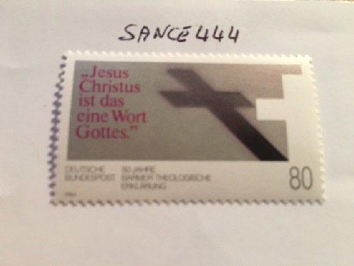 Germany Barmer theological declaration mnh 1984
