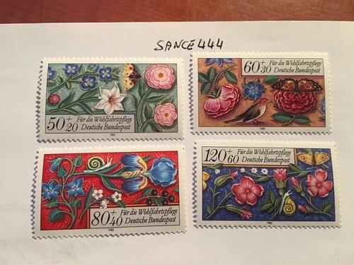 Germany Welfare Miniatures mnh 1985