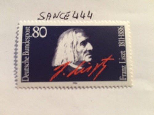 Germany F. Liszt mnh 1986