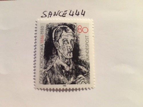 German Oskar Kokoschka mnh 1986