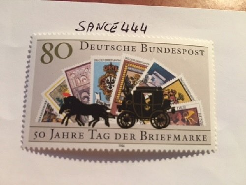 Germany Stamp Day mnh 1986