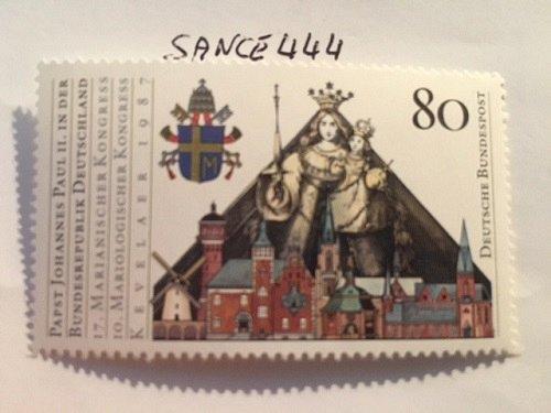 Germany Pope's visit mnh 1987