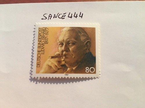 Germany Ludwig Erhard mnh 1987