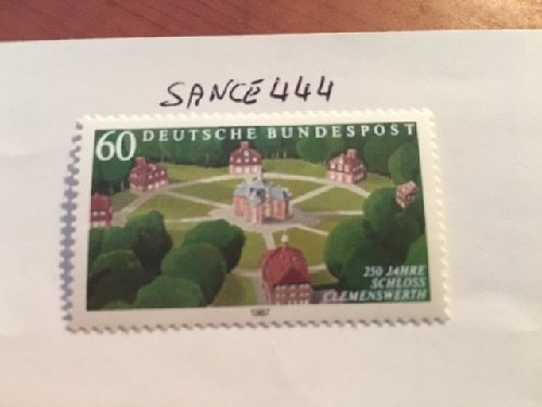 Germany Clemenswerth castle mnh 1987