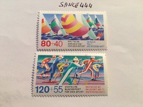 Germany Sports mnh 1987