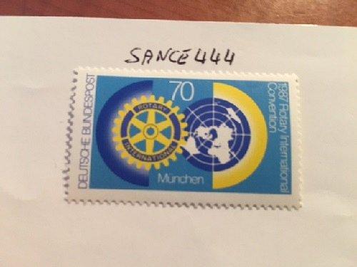 Germany Rotary international mnh 1987